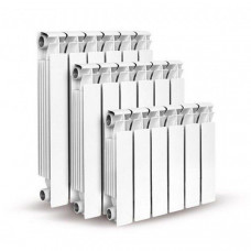 Алюминиевый секционный радиатор Konner LUX 100/500, 12 секций