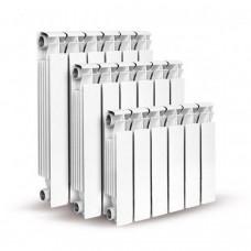 Алюминиевый секционный радиатор Konner LUX 80/500, 8 секций