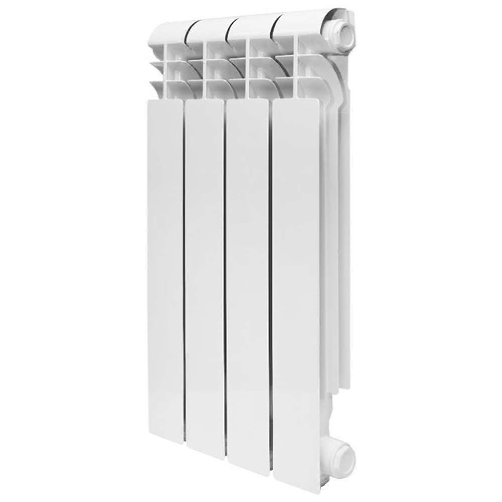 Алюминиевый секционный радиатор Konner LUX 80/500, 10 секций