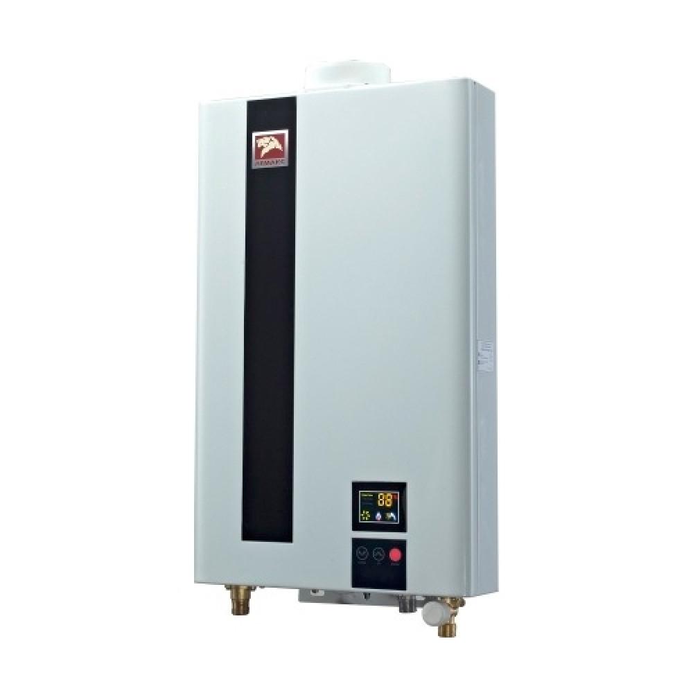 Газовый проточный водонагреватель Лемакс Альфа Баланс-24