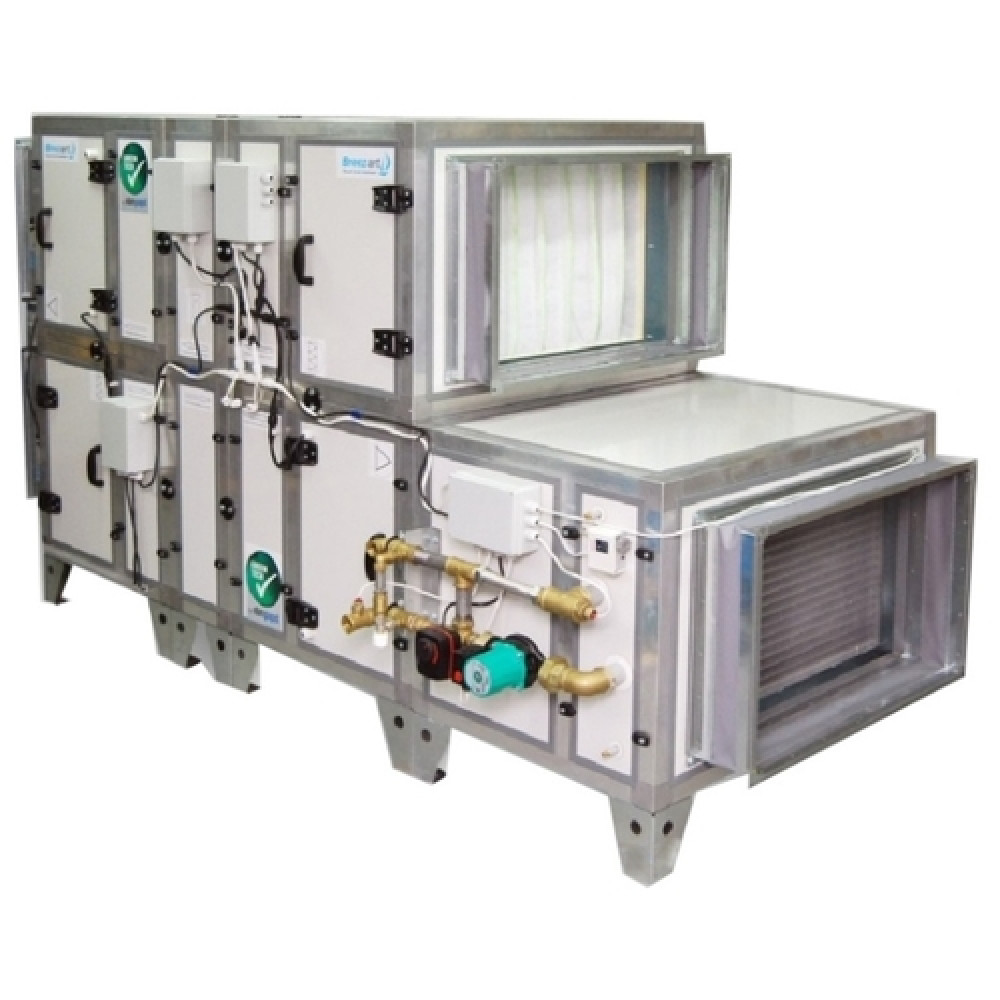 Приточная вентиляционная установка Breezart 8000 Aqua RR F