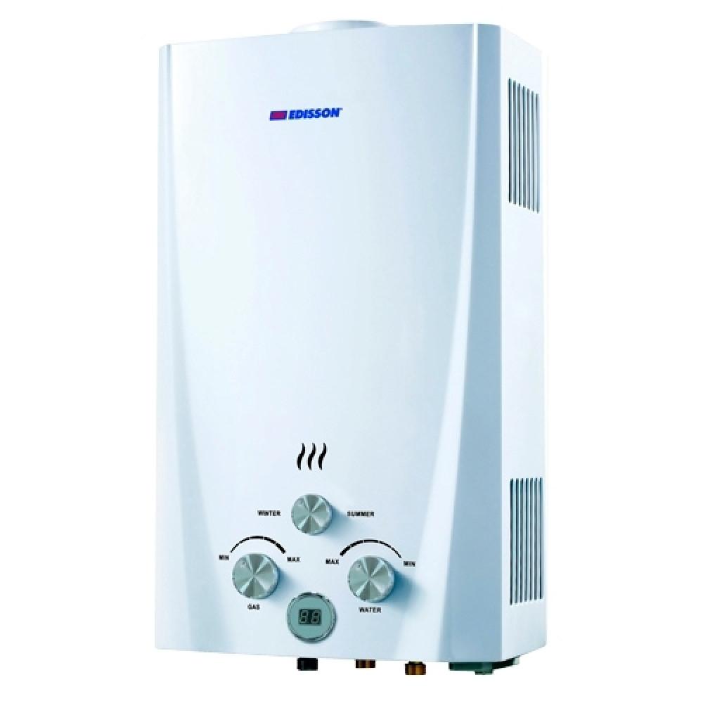 Газовый проточный водонагреватель Edisson Flame F 20 D