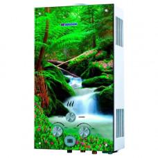 Газовый проточный водонагреватель Edisson Flame F 20 GD (лес)