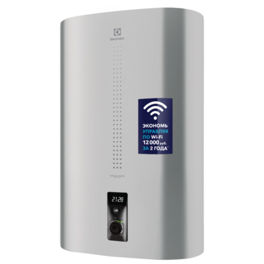 Электрический накопительный водонагреватель Electrolux EWH 80 Centurio IQ 2.0 Silver
