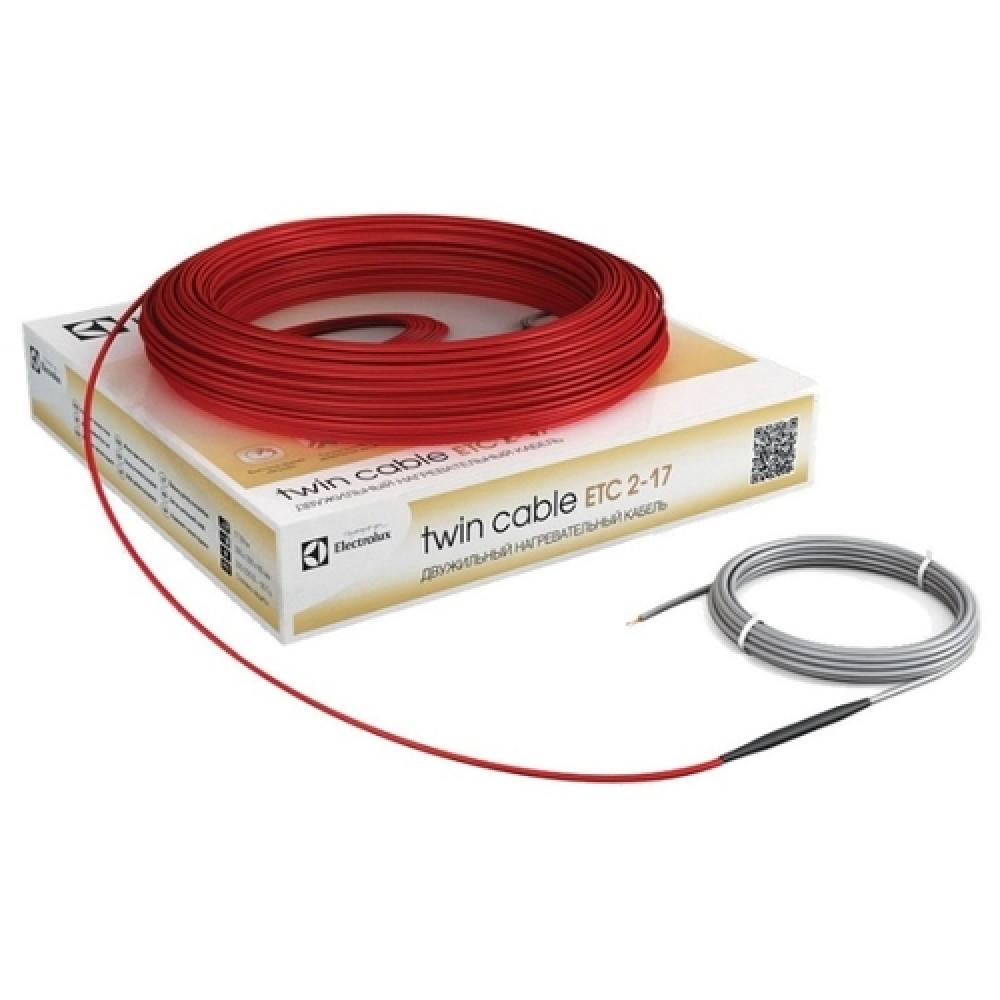 Нагревательный кабель Electrolux Twin Cable Etc 2-17-1000