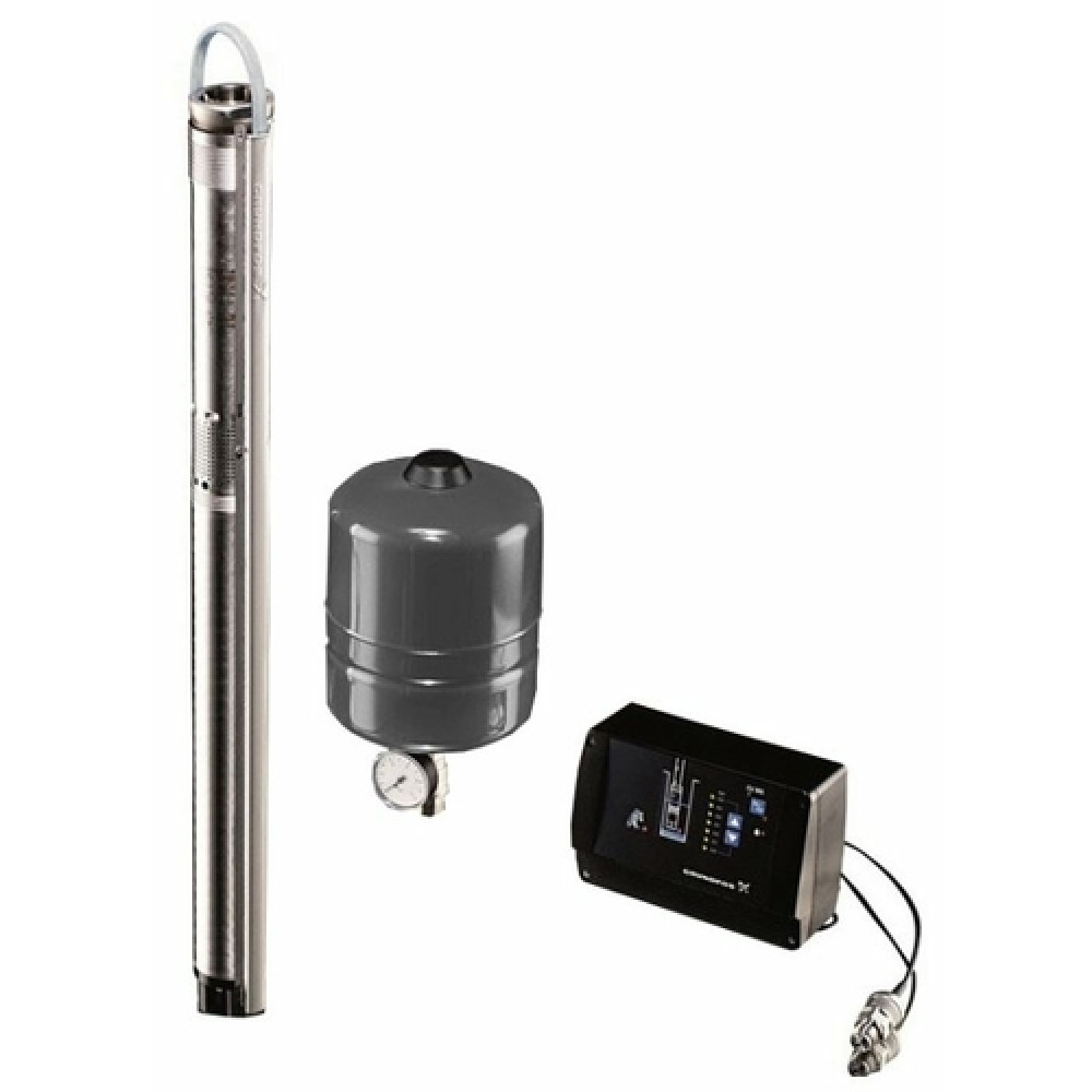 Скважинный насос Grundfos SQE 3 - 65 с кабелем 40 м