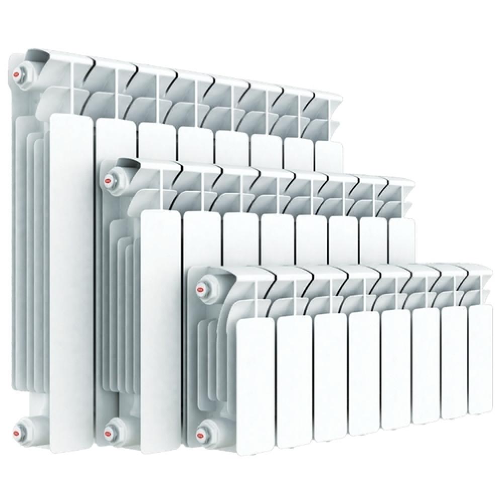 Биметаллический радиатор Rifar Base Ventil 500 x8