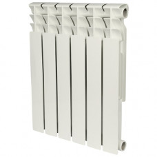 Биметаллический радиатор Rommer Optima 500/ 6-сек.