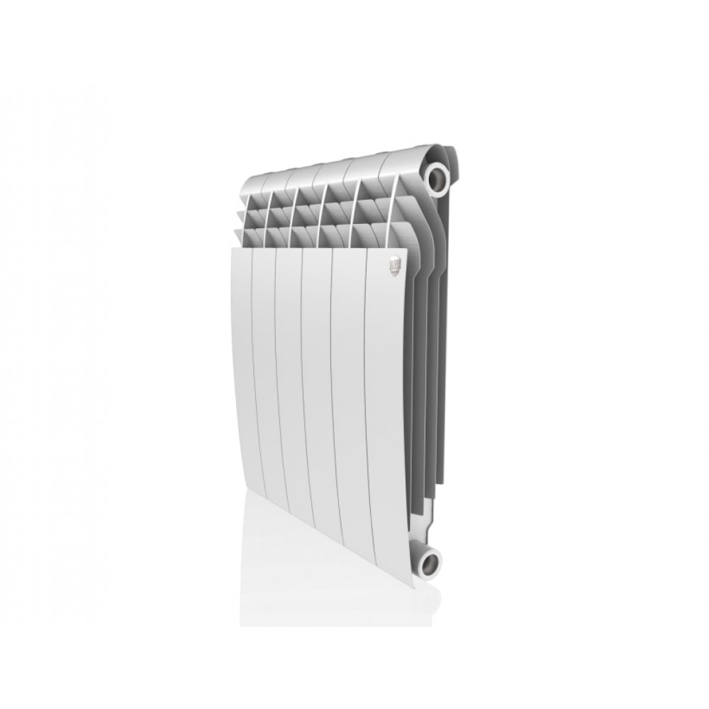 Биметаллический радиатор Royal Thermo Biliner 500/Bianco Traffico - 6 секц.