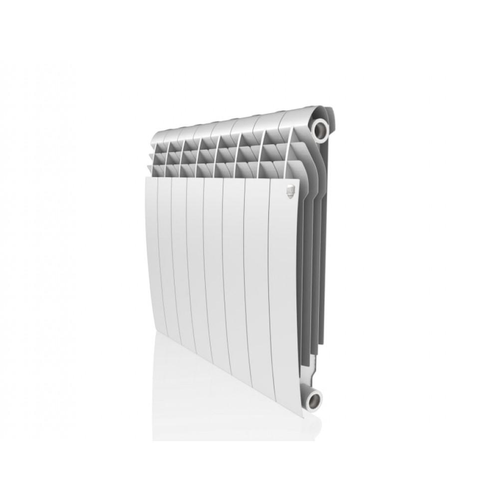 Биметаллический радиатор Royal Thermo Biliner 500/Bianco Traffico - 8 секц.