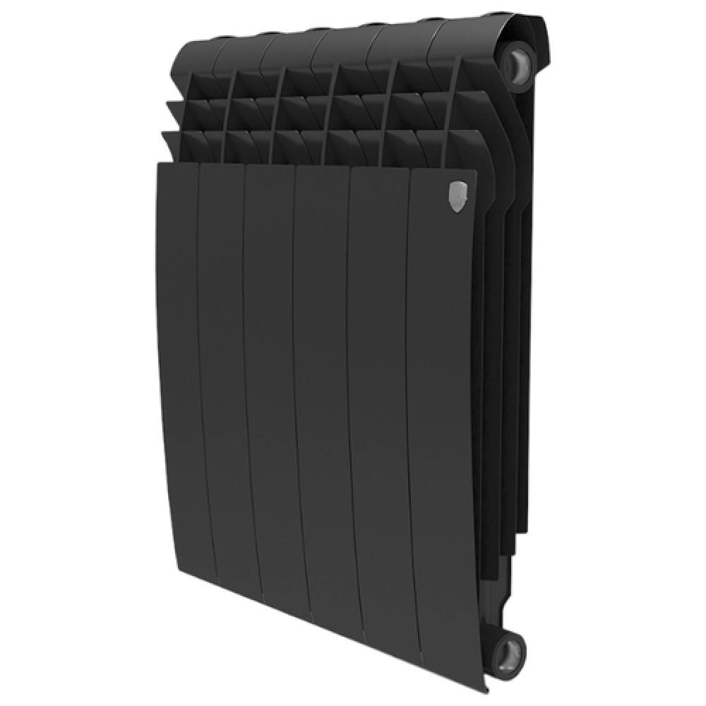 Биметаллический радиатор Royal Thermo BiLiner 500/Noir Sable - 4 секц.