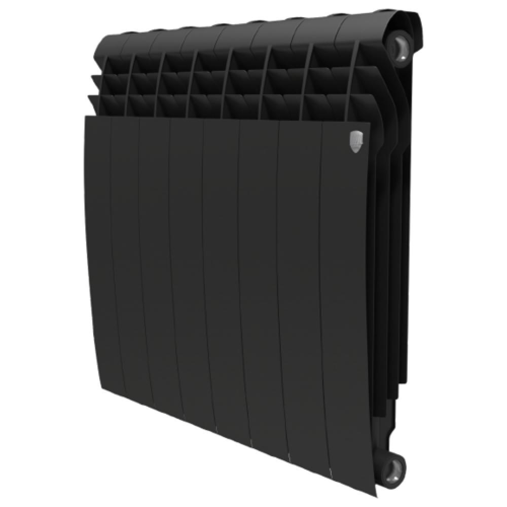 Биметаллический радиатор Royal Thermo BiLiner 500/Noir Sable - 8 секц.