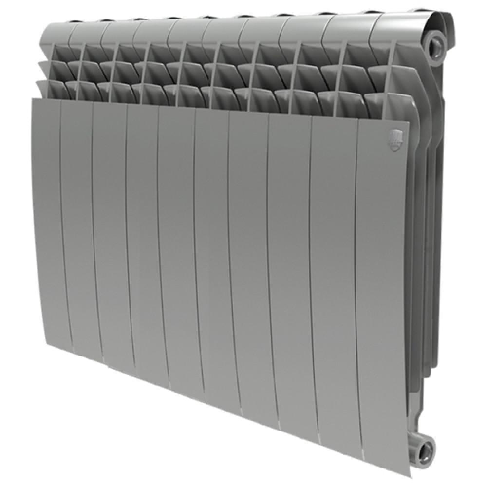 Биметаллический радиатор Royal Thermo BiLiner 500/Silver Satin - 10 секц.