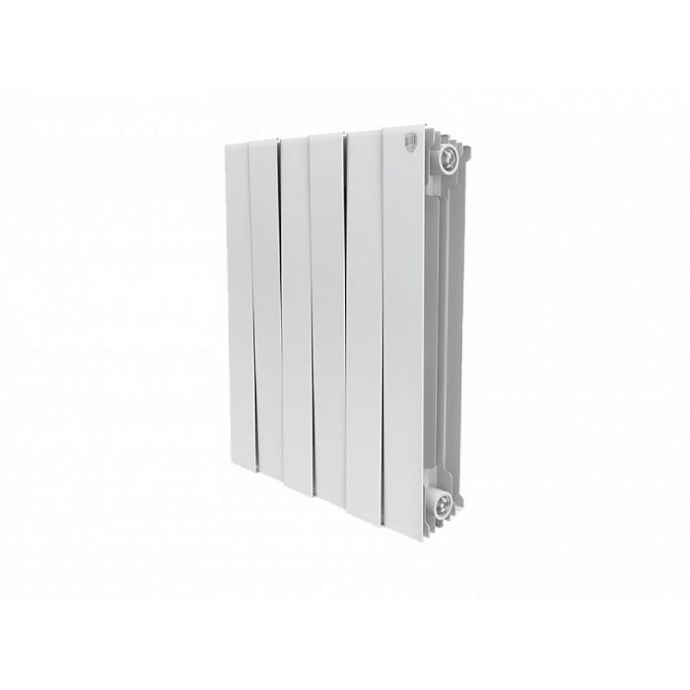 Биметаллический радиатор Royal Thermo PianoForte 500 new/Bianco Traffico - 6 секц.