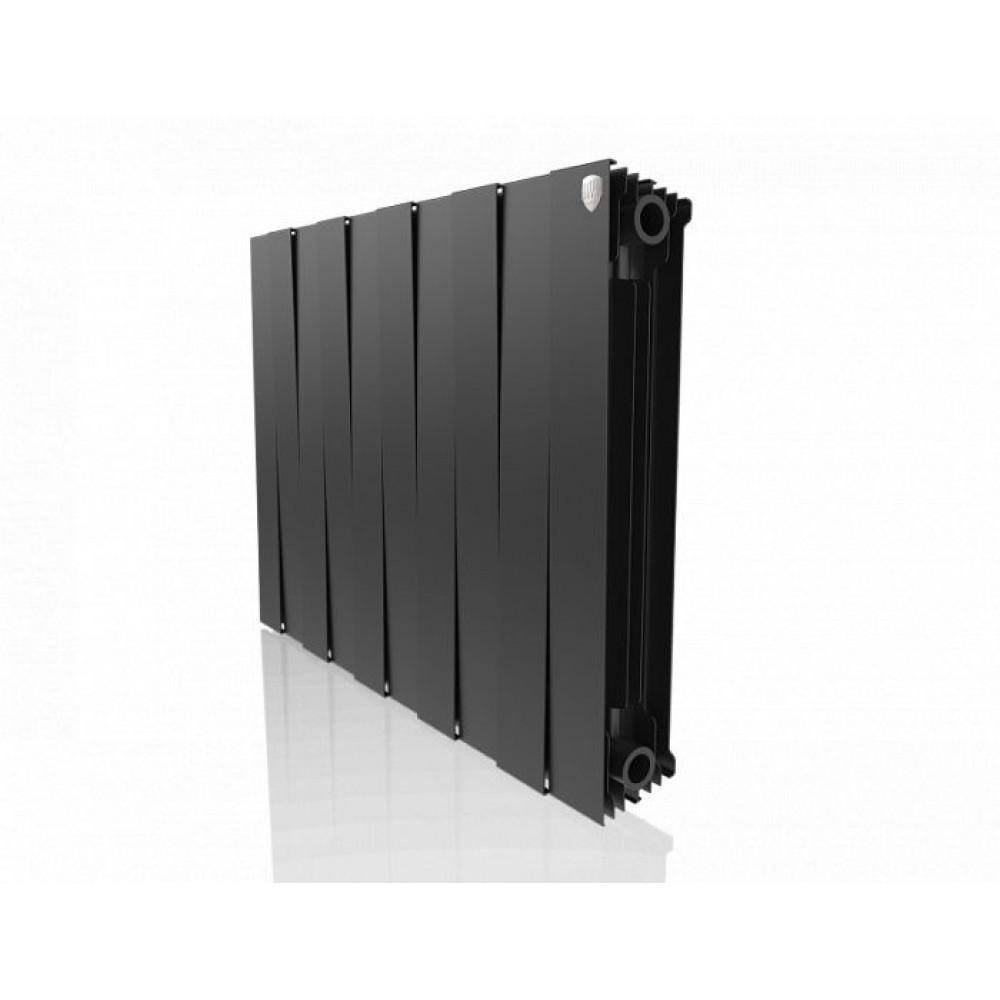 Биметаллический радиатор Royal Thermo PianoForte 500 new/Noir Sable - 10 секц.