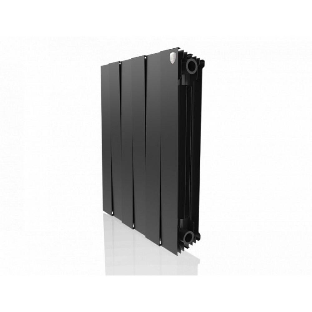 Биметаллический радиатор Royal Thermo PianoForte 500 new/Noir Sable - 6 секц.
