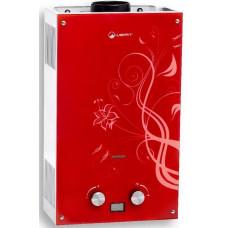Газовый проточный водонагреватель WERT 10EG RED GLASS