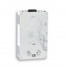 Газовый проточный водонагреватель WERT 10EG WHITE GLASS