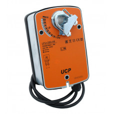 Электропривод с возвратной пружиной UCP LFU-24-05