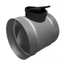 Клапан с пластиковой ручкой Venttorg DRCP 100