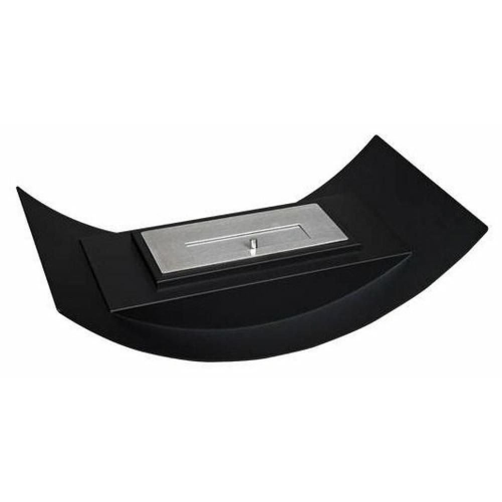 Настольный биокамин Kratki Misa mini черная, TUV