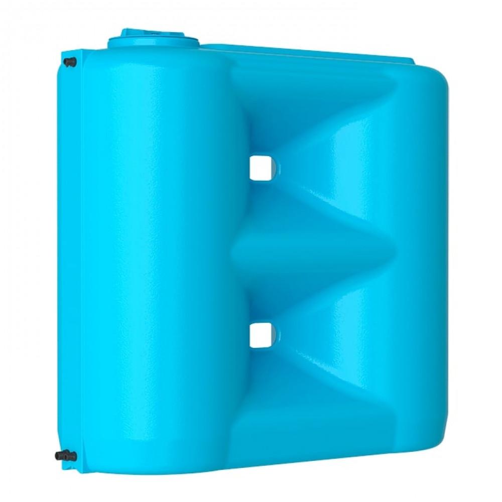 Бак д/воды Акватек Combi W-1500 BW (синий) с поплавком