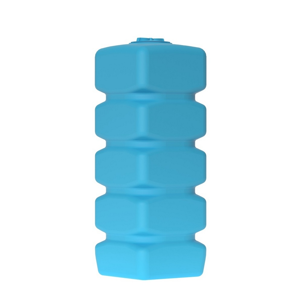 Бак д/воды Акватек Quadro W-1000 (синий) с поплавком