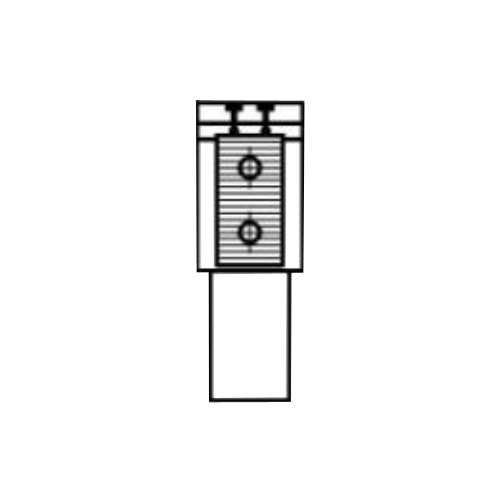 Алюминиевый радиатор Kzto Элегант Мини 80х130х2000 1то