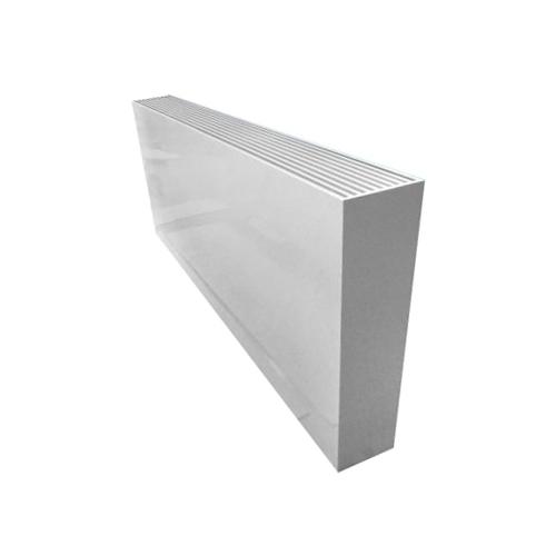Алюминиевый радиатор Kzto Элегант плюс 130х250х1000 2то
