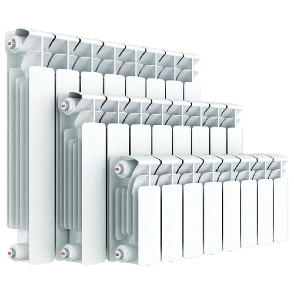 Биметаллический радиатор Rifar Gekon 350/90/ 6-секций