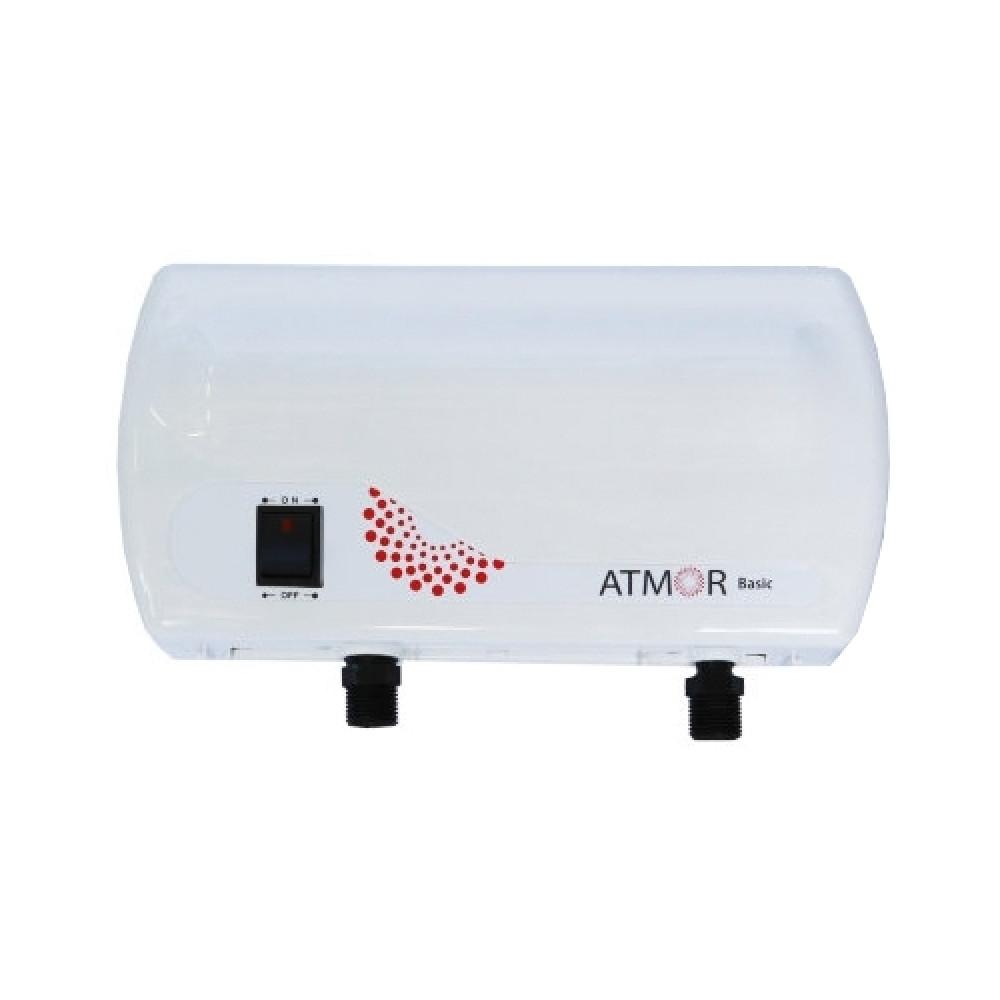 Проточный водонагреватель Atmor Basic + 5000 Кран