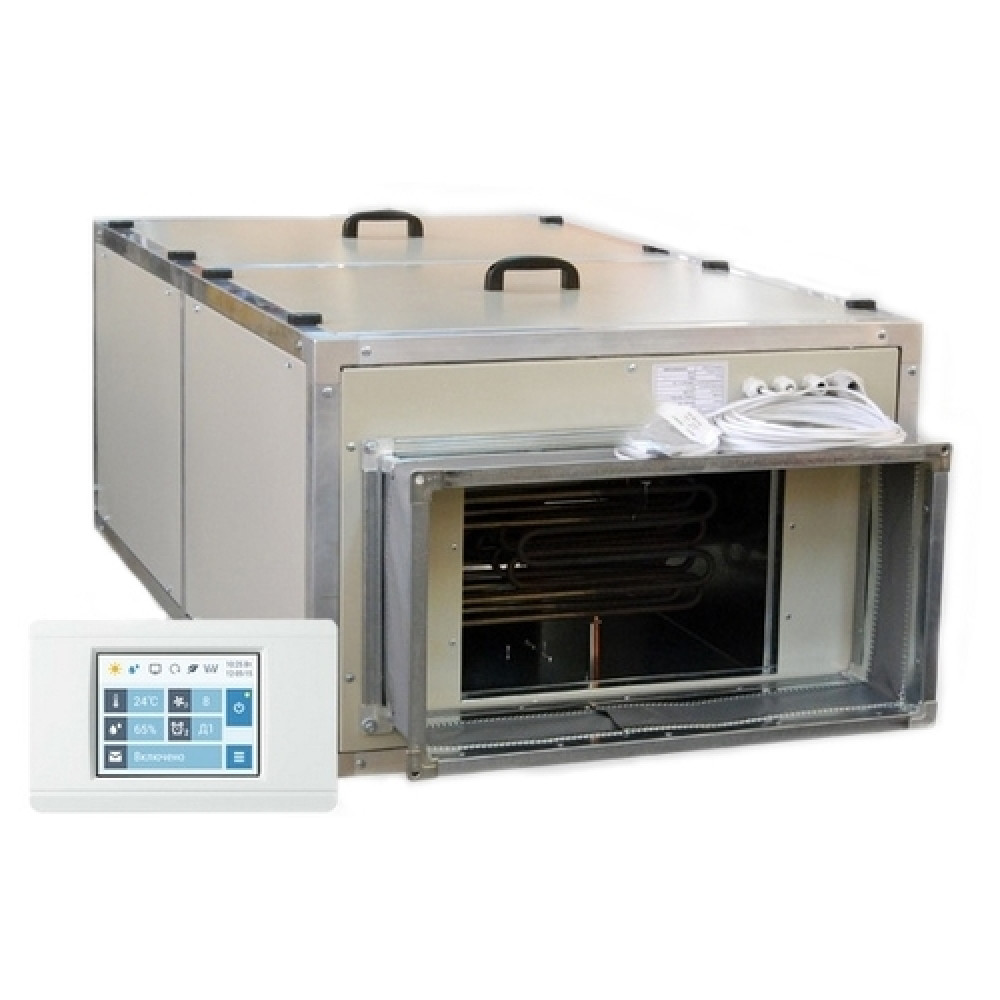 Приточная вентиляционная установка Breezart 2700 Lux W 37,5 - 380/3