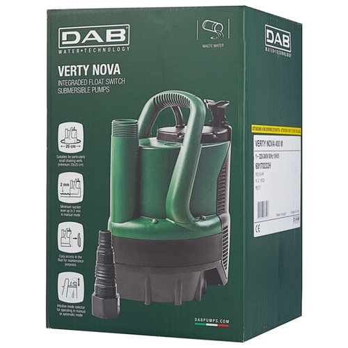 Дренажный насос Dab Verty Nova 400 M