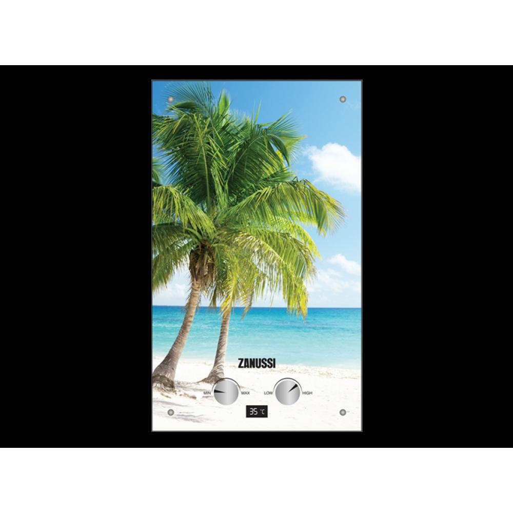 Газовый проточный водонагреватель Zanussi GWH 10 FONTE GLASS PARADISO